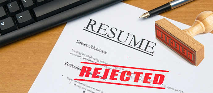 resume and cover letter fails