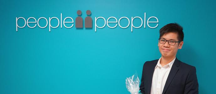 Locki's week of work experience with people2people